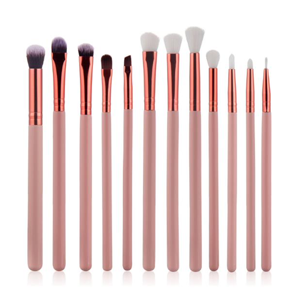 2018 New Eyeshadow Makeup Brush Best Cosmetic Makeup Brush Set 12Pcs