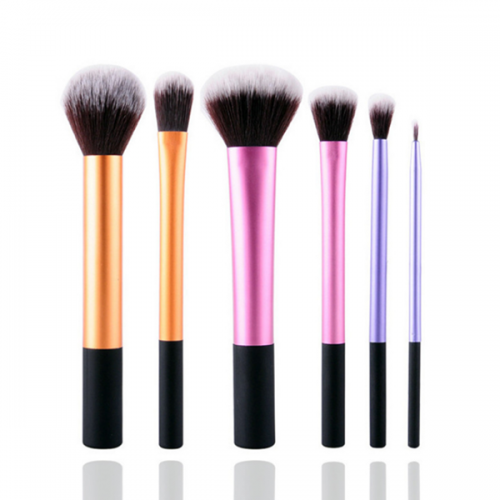 Custom Brand Synthetic Powder Concealer Foundation Makeup Brush 5Pcs