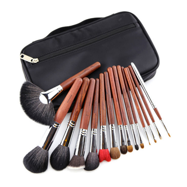 High Quality Cosmetic Foundation Powder Eye Shadow Makeup Brush 15Pcs