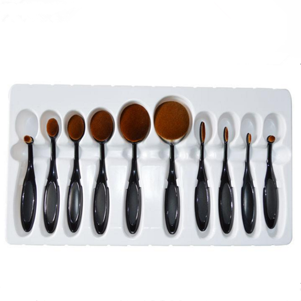 10pcs face foundation makeup brush