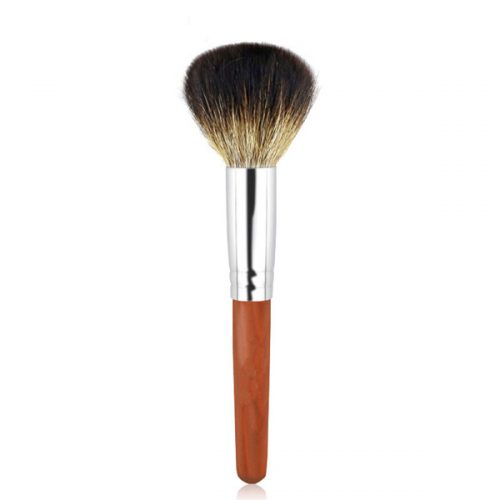 Top quality Animals Hair Wood Cosmetics Face Powder Makeup Brush