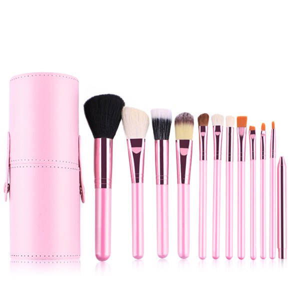 Professional Beauty Care Cosmetic Tools Makeup Brush Set 12Pcs