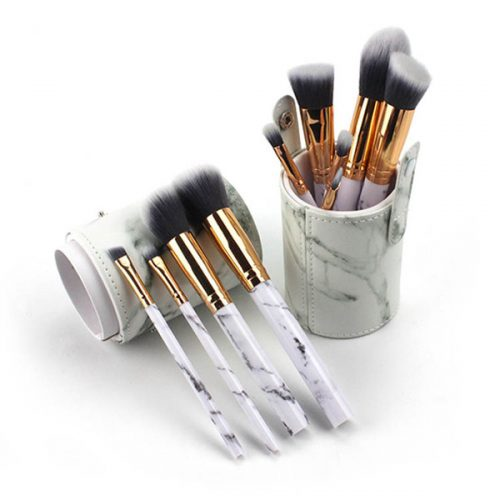 Hot 10pcs makeup brush set face foundation make up Cosmetic Brush Set