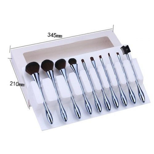Latest good quality cosmetic make up brush 10pcs face cometic brush