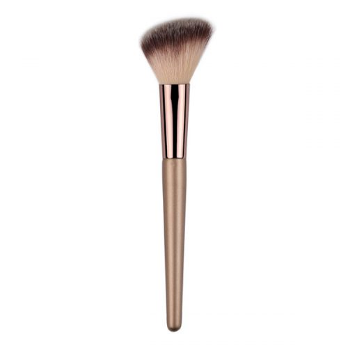 Super soft synthetic contour angled blush brushes pincel de maquiagem