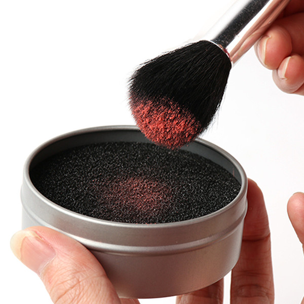 Hot selling high quality sponge brush cleaner tool with metal box