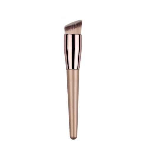 Best Face Liquid Brush Synthetic Angled Foundation Makeup Brush