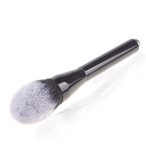 High Quality Synthetic Powder Brush Wood Handle Material Makeup Brush