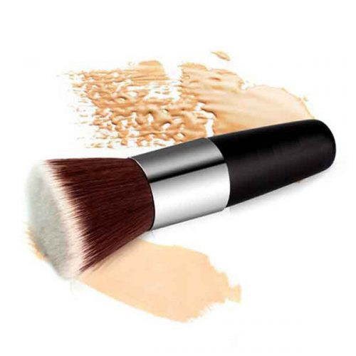 Best Foundation Powder Single Brush Cosmetic Flat Contour Makeup Brush