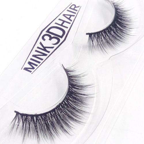 Very Soft High Qaulity 3D Faux Mink Lashes 3D Silk Eyelashes With OEM