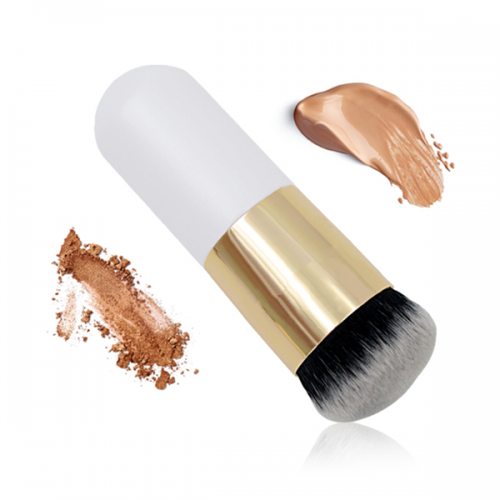 Professional Wood Synthetic Liquid Foundation Cosmetics Makeup Brush