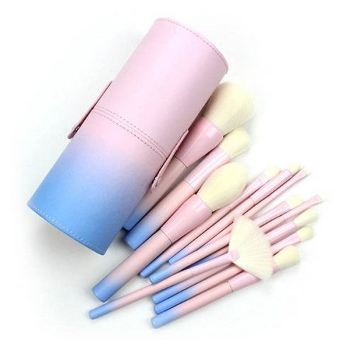 Best Makeup Brush Professional Face Make Up Brush Set 12Pcs With Bag