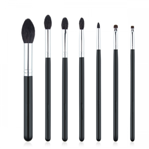 Custom brand 7 pcs eye brushes eyeshadow blending cosmetic brush