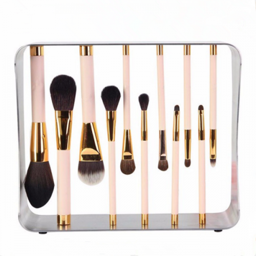Soft synthetic cosmetic face powder eye shadow Lip makeup brush 11 pcs
