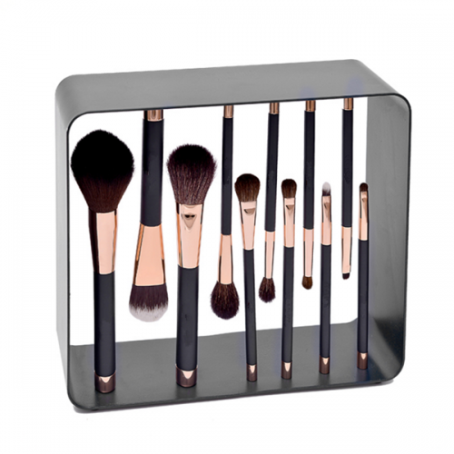 11 Pcs Professional Cosmetics Face Powder Foundation Eye Makeup Brush