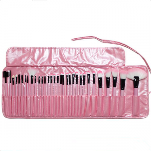 32PCS Pink Professional Cosmetic Makeup Brushes Set