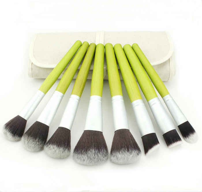 23PCS Synthetic Hair Cosmetic Makeup Brush with Cloth Bag