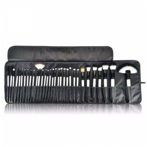 professional 32 piece high quality custom cosmetic makeup brushes