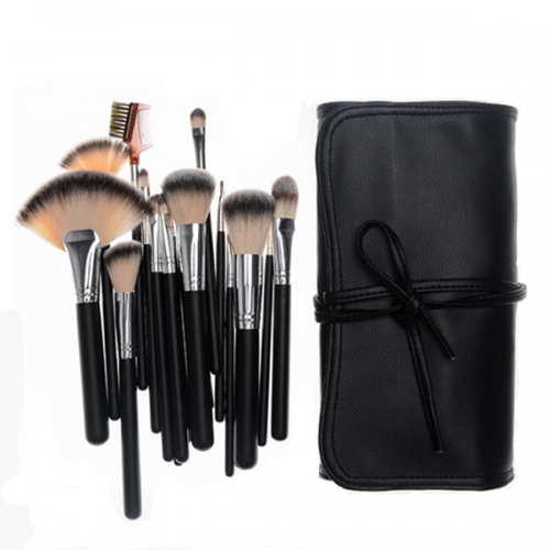 2018 Hot Makeup Brush 18Pcs Customized Cosmetic Makeup Brush With Bag