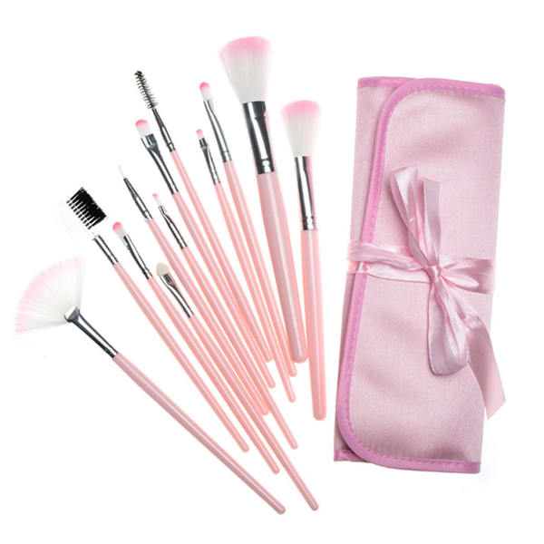 Priviate Label High Quality 7Pc Cosmetic Makeup Brush Set With Bag