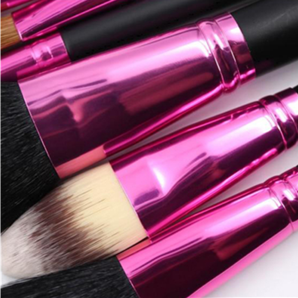 7Pcs Cosmetic Makeup Brush Cosmetic Makeup Tools With Bag