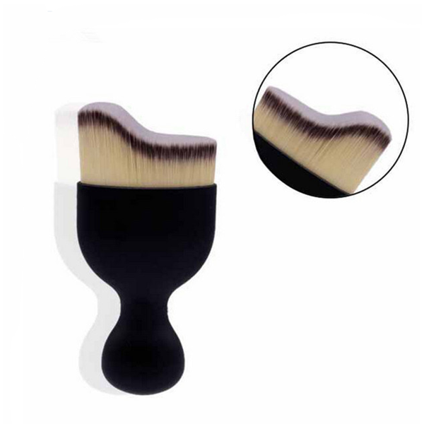 Single Wave Contouring Face Foundation Makeup Brush