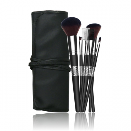 7 Pieces Cosmetic Professional Travel Design Makeup Brush Set