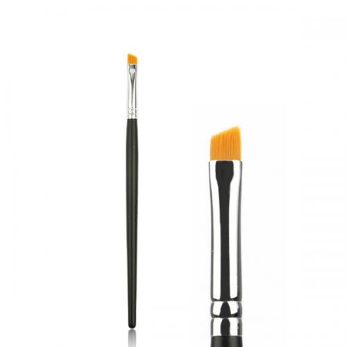 1 Pcs Cosmetic Eye Brow Brush Synthetic Black Angle Eye Brush