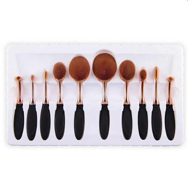 Professional makeup brush set 10pcs beauty care cosmetic makeup tools